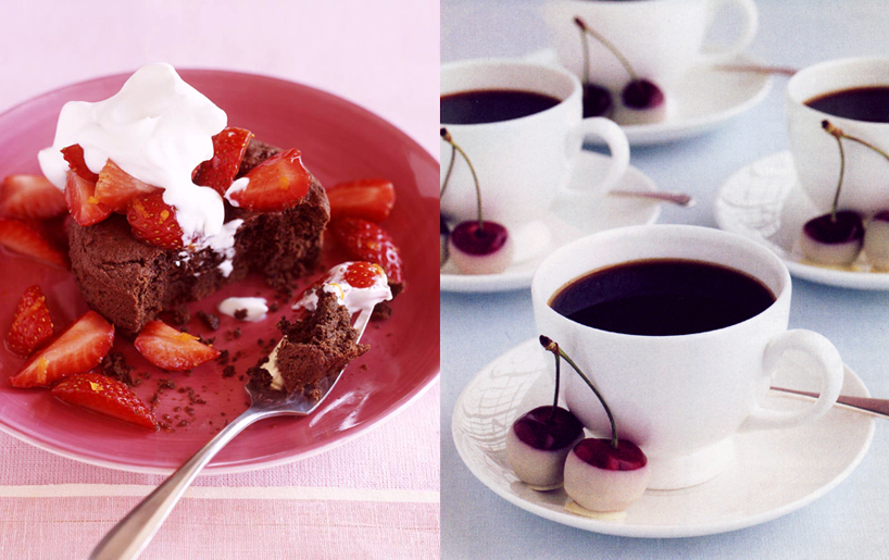 Bon Appetit Chocolate Cake and Martha Stewart Weddings Good Things and ...